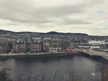 Città di Inverness Fotografia Stock Libera da Diritti