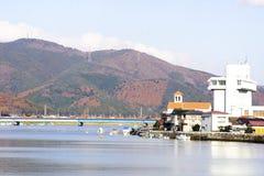 Città di Ishinomaki Fotografia Stock Libera da Diritti