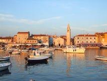 Città di Istrian Immagini Stock Libere da Diritti