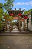 Città di Jiangsu Wuxi Huishan Fotografia Stock Libera da Diritti