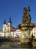 Città di Jihlava, repubblica ceca fotografie stock libere da diritti