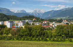 Città di Kamnik, Slovenia Immagine Stock Libera da Diritti