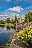 Città di Karlstad Fotografie Stock