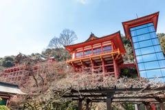 CITTÀ DI KASHIMA, SAGA, GIAPPONE - 11 MARZO 2017: Yutoku Inari è una S Fotografia Stock Libera da Diritti