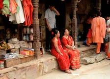 Città di Kathmandu, Napel fotografie stock libere da diritti