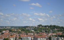 Città di Kaunas immagini stock