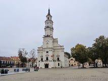 Città di Kaunas, Lituania fotografia stock libera da diritti