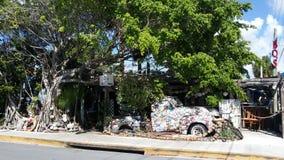 Città di Key West Vecchia automobile della natura Fotografia Stock