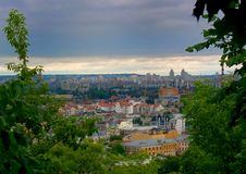 Città di Kiev Fotografie Stock
