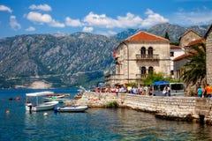 Città di Kotor nel Montenegro Fotografia Stock Libera da Diritti