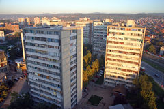 Città di Kragujevac Immagini Stock Libere da Diritti