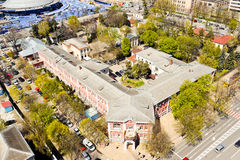 Città di Krasnodar, Russia immagine stock libera da diritti