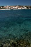 Città di Krk - isola di Krk, Croatia. Immagini Stock Libere da Diritti