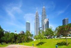 Città di Kuala Lumpur Fotografie Stock Libere da Diritti