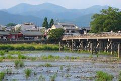 Città di Kyoto Fotografie Stock
