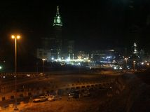 Città di La Mecca immagini stock