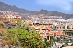 Città di Las Americas in Tenerife immagini stock libere da diritti