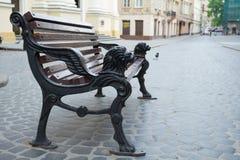 Città di Leopoli, Ucraina Immagine Stock Libera da Diritti