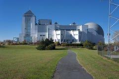 Città di Liberty Science Center New Jersey Fotografia Stock Libera da Diritti