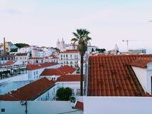 Città di Lisbona immagine stock libera da diritti