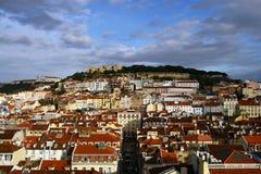 Città di Lisbona Fotografie Stock
