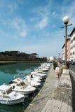 Città di Livorno, Italia Immagine Stock