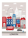 Città di Londra. Fotografia Stock