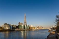 Città di Londra di mattina Fotografia Stock Libera da Diritti