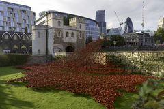 Città di Londra, st Thomas Tower Immagine Stock Libera da Diritti