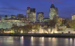 Città di Londra, torre di Londra Immagini Stock Libere da Diritti