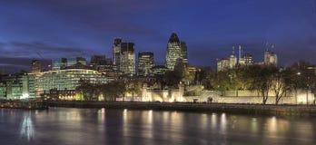 Città di Londra, torre di Londra Fotografia Stock Libera da Diritti
