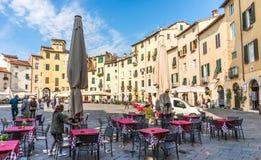 Città di Lucce, Italia Fotografia Stock Libera da Diritti