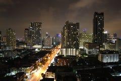 Città di luce Fotografia Stock