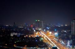 Città di luce Immagine Stock Libera da Diritti