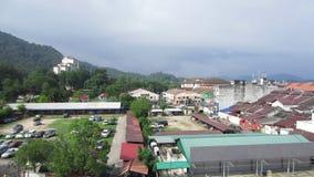 Città di Lumut nello stato di Perak, Malesia Circa dicembre 2016 video d archivio