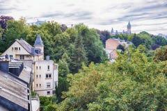 Città di Lussemburgo Immagine Stock
