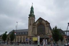 Città di Lussemburgo fotografia stock