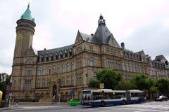 Città di Lussemburgo, Lussemburgo - 28 luglio 2011: Comunità Europea del Carbone e dell'Acciaio CECA Fotografia Stock