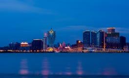 Città di Macao Immagine Stock