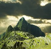 Città di Machu-Picchu Immagini Stock