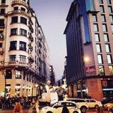 Città di Madrid Fotografia Stock Libera da Diritti