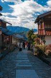 Città di Magome, Giappone Fotografia Stock