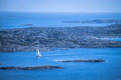 Città di Marstrand, Svezia Fotografie Stock