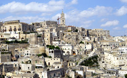Città di Matera Fotografia Stock