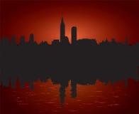 Città di mattina illustrazione vettoriale