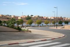 Città di Meknes Fotografie Stock Libere da Diritti