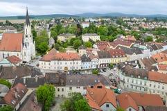 Città di Melk, Austria fotografie stock libere da diritti