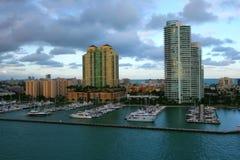 Città di Miami Immagini Stock
