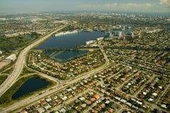 Città di Miami Fotografia Stock Libera da Diritti