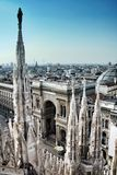Città di Milano Fotografia Stock